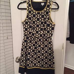 Bumblebee shift dress